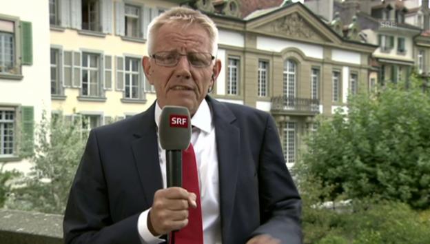 Video ««Der Bundeskanzlerin dürfte das Flüchtlingsthema unter den Nägeln brennen»» abspielen