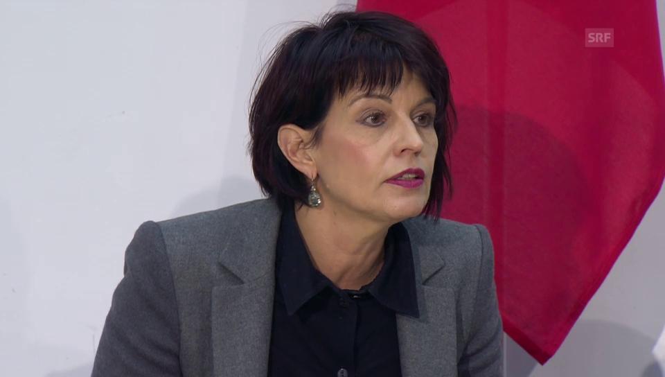 Doris Leuthard zum Gotthard-Ja