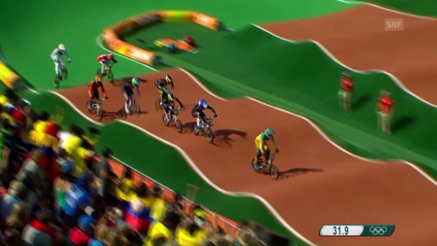 Video «Graf auch im 2. Lauf weit hinten» abspielen