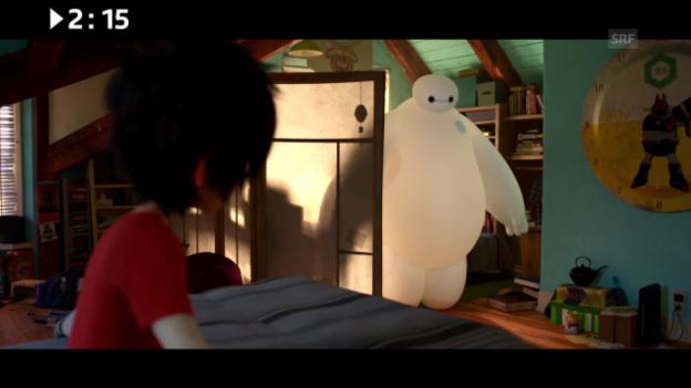 Video «Im Kino: «Baymax - Big Hero 6»» abspielen