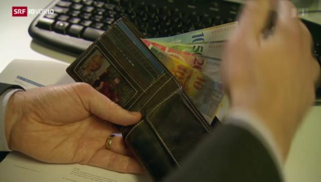 Video «Strafzinsen treffen auch Pensionskassen» abspielen