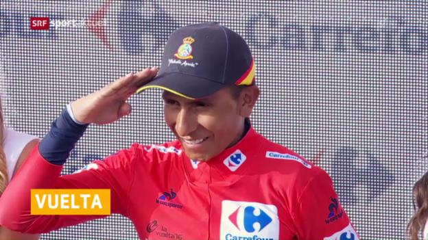 Video «Quintana vor Vuelta-Sieg» abspielen