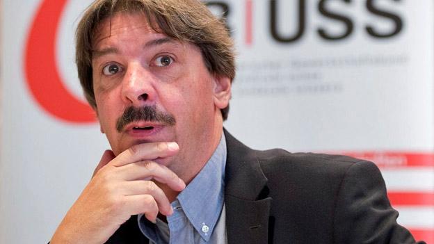 Paul Rechsteiner, Oberster Gewerkschafter