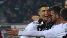 Link öffnet eine Lightbox. Video Ronaldo erzielt Jubiläumstor abspielen