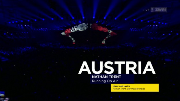 Video «Nathan Trent: «Running On Air»» abspielen