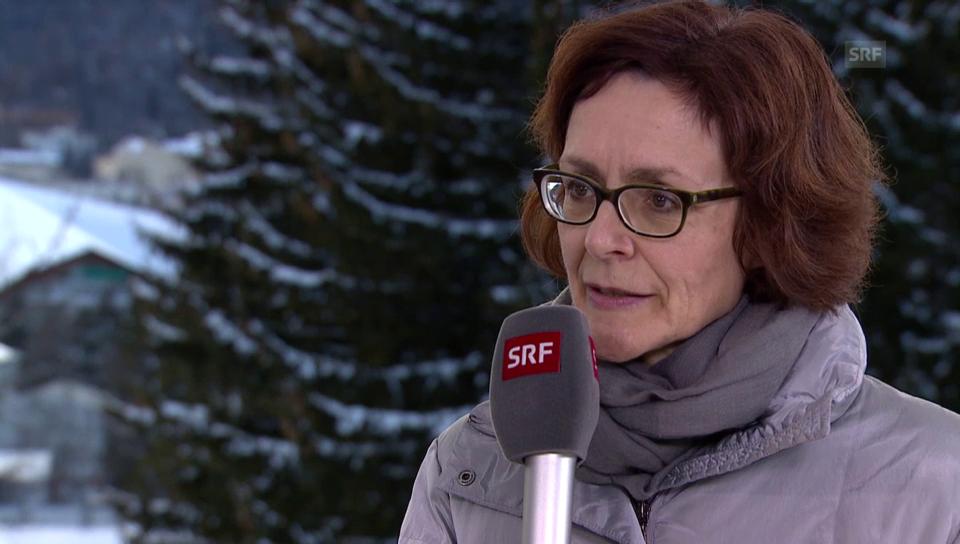 Monika Rühl, Direktorin von Economiesuisse