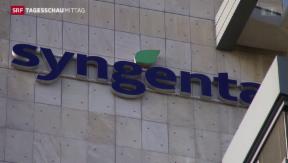 Video «Übernahmeangebot Syngenta» abspielen
