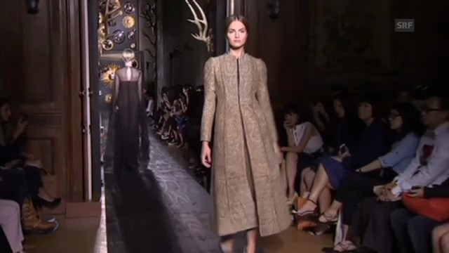 Valentino Haute-Couture-Schau in Paris (unkomm.)