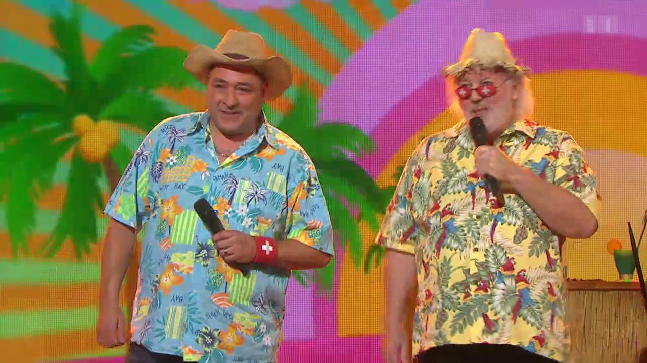 Starduett mit Comedy-Legende Peach Weber - Auftritt