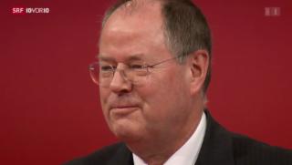 Video «Steinbrück tritt zurück» abspielen