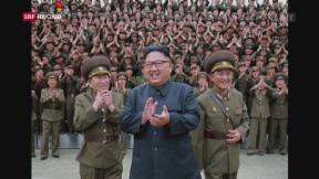 Video «FOKUS: Entspannung in Nordkorea» abspielen