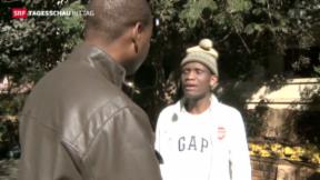 Video «Simbabwische Exilanten in Südafrika» abspielen