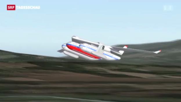 Video «ETH präsentiert visionäre Flugtechnik» abspielen