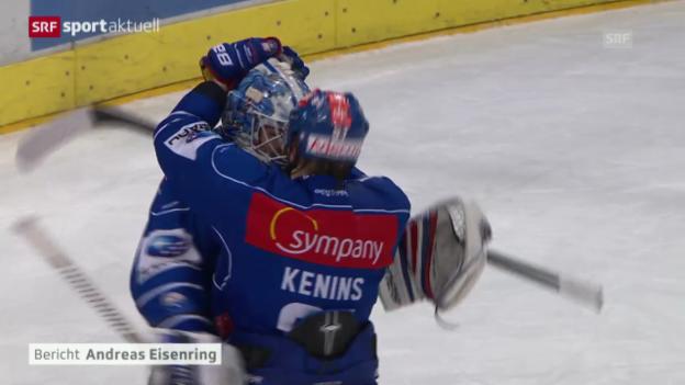 Video «Eishockey: Playoff-Viertelfinals, Spiel 3, ZSC Lions-Lausanne («sportaktuell», 15.3.14)» abspielen