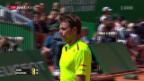Video «Nadal lässt Wawrinka in Monte-Carlo eiskalt abblitzen» abspielen