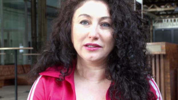 Video «Güzin Kar ist erstaunt, dass das Ergebnis so knapp ist» abspielen