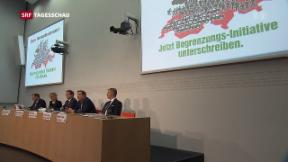 Video «SVP lanciert «Begrenzungsinitiative»» abspielen