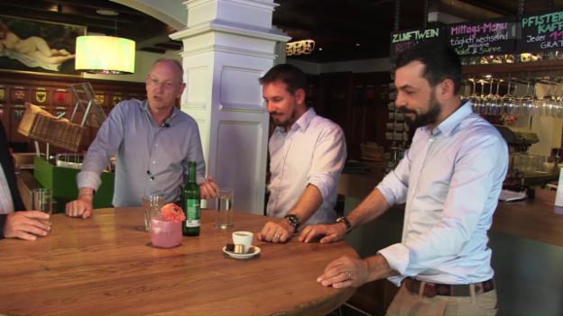 Video «Alles ist Chefsache: Gastronomen-Brüder Eltschinger (Teil 2)» abspielen