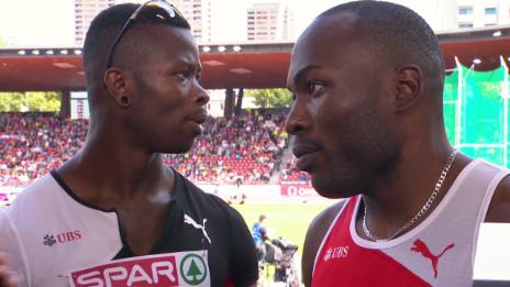 Video «Leichtathletik-EM: Interview mit Schenkel und Wilson» abspielen