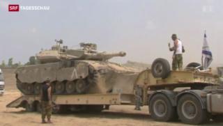 Video «Gazakonflikt: Verhandlungen bringen keine Resultate» abspielen