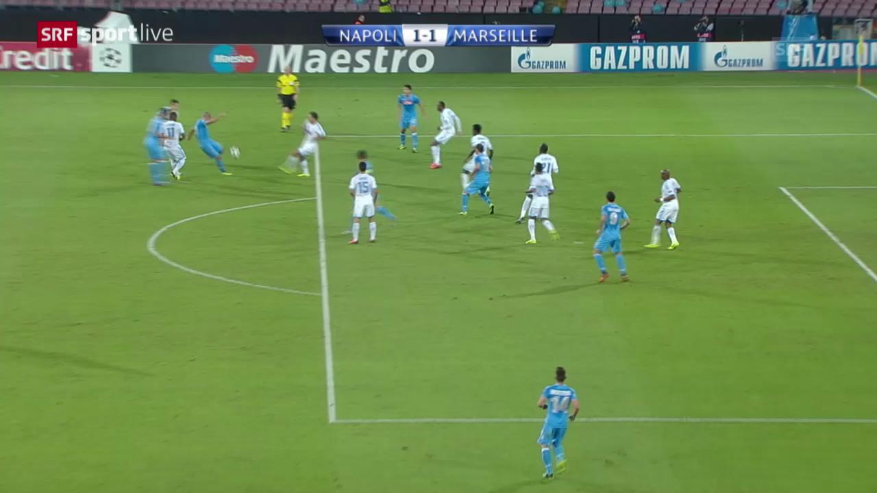 Fussball: Napoli - Marseille