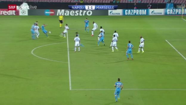 Video «Fussball: Napoli - Marseille» abspielen