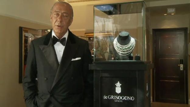 Video «Juwelen-Diebstahl in Cannes: Fawaz Gruosi nimmt Stellung» abspielen