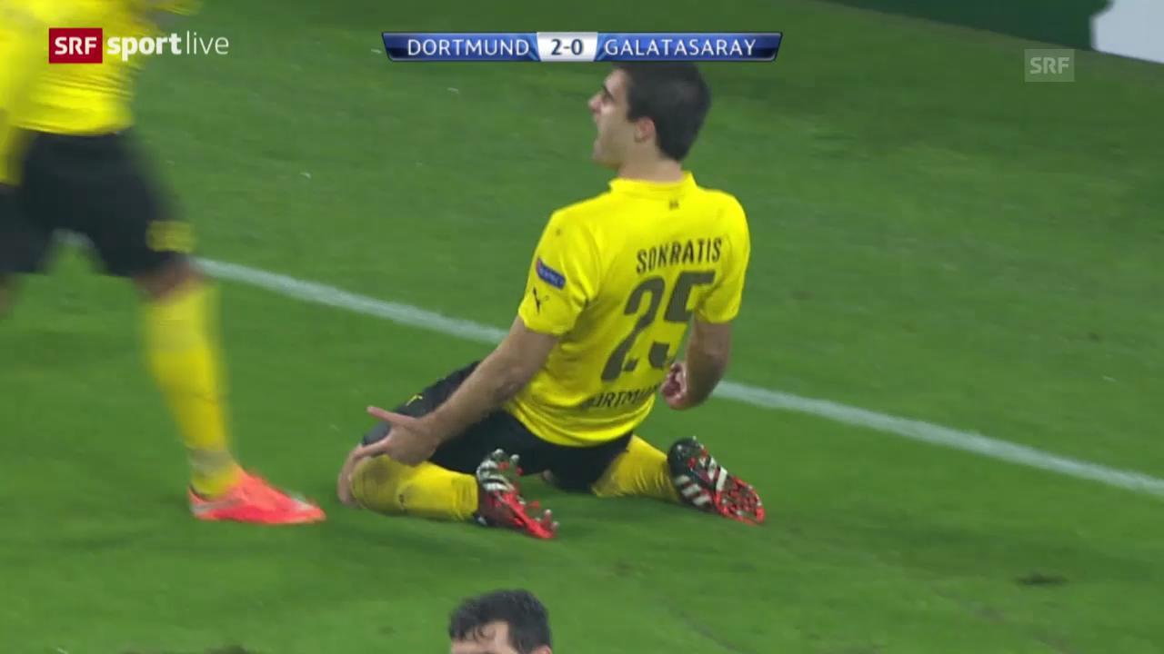 Fussball: CL, Dortmund - Galatasaray
