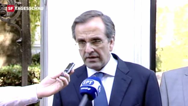 Video «Regierung in Griechenland steht» abspielen