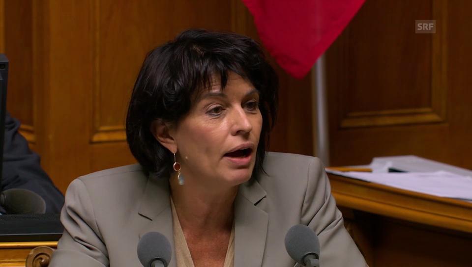 Leuthard erklärt die Strategie des Bundesrats