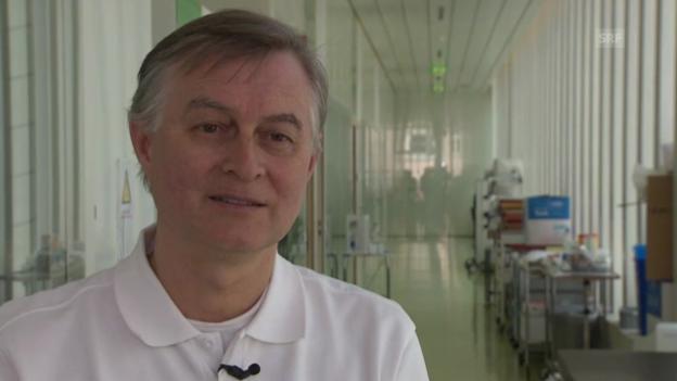 Video «Interview mit Prof. de Geyter» abspielen