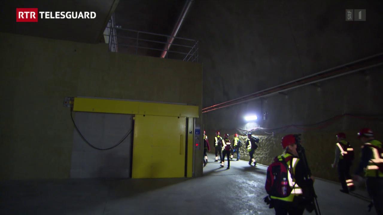 Hallas enstagl Porta Alpina – sin viadi tras il Gotthard