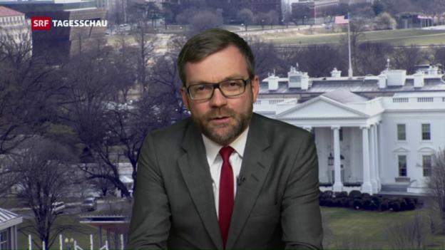 Video «US-Korrespondent: «Für viele Amerikaner ist das nur noch grotesk.»» abspielen