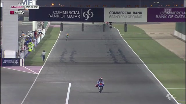 Motorrad: GP Katar, Schlussphase MotoGP