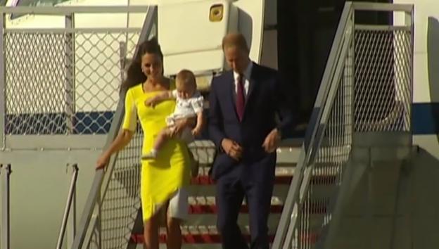 Video «Kate, William und George in Australien» abspielen