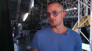 Video «Zürcher Latino-Star möchte Südamerika erobern» abspielen