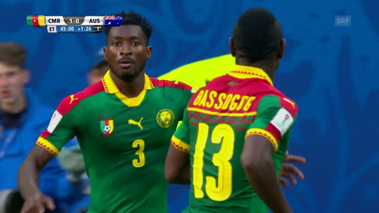 Kamerun - Australien: Live-Highlights