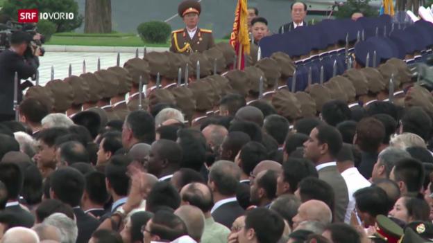 Video «Nordkorea testet Wasserstoff-Bombe» abspielen