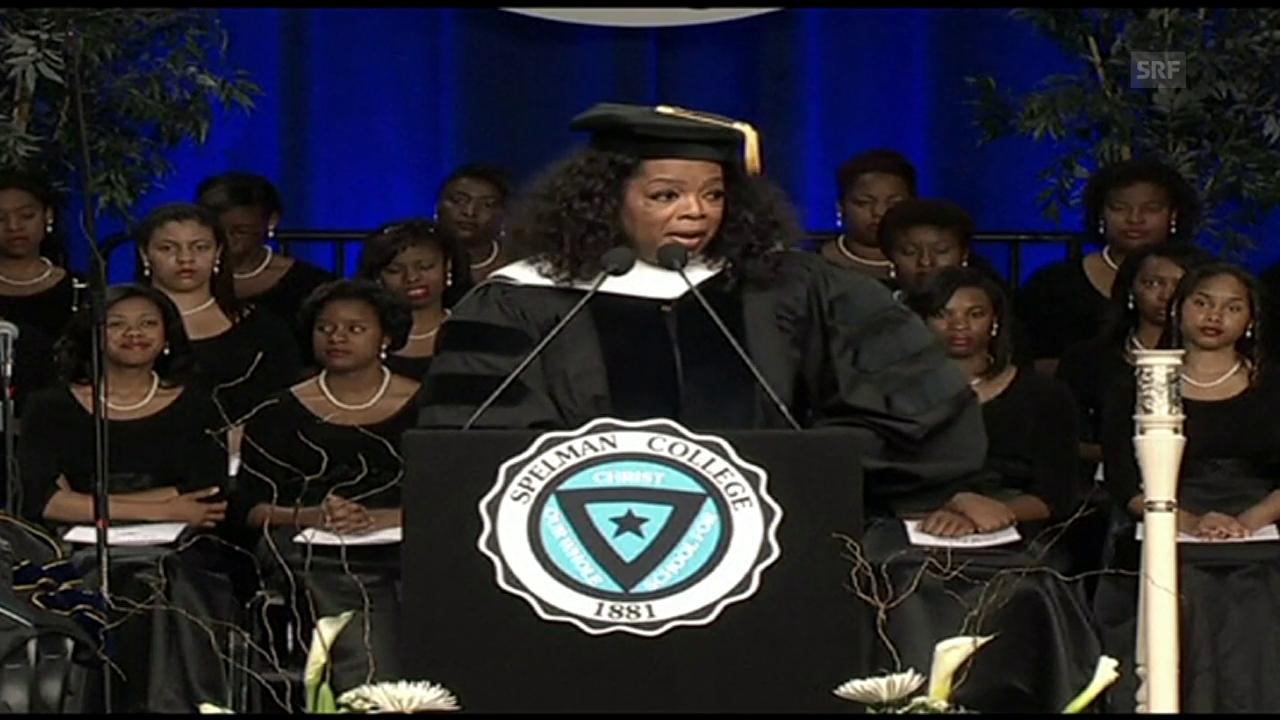 Graduations-Feier Spelman College, Agenturen vom 21.5.2012