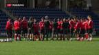 Video «Abschlusstraining der Schweizer Nationalmannschaft» abspielen