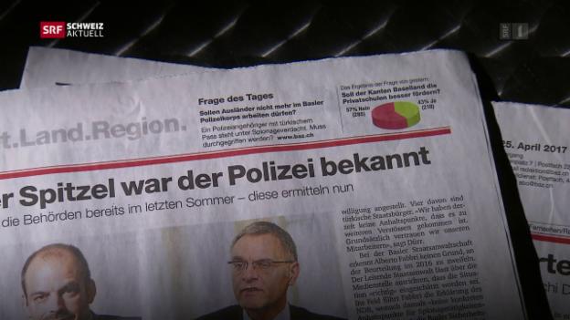 Video «Basler Polizist festgenommen» abspielen