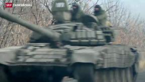 Video «Brüchige Waffenruhe in der Ostukraine » abspielen