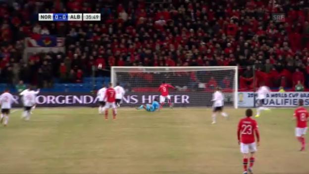 Video «Spielbericht Norwegen - Albanien» abspielen