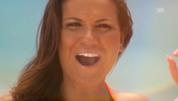Video «So klingt Cristiano Ronaldos Schwester (Song von 2014)» abspielen