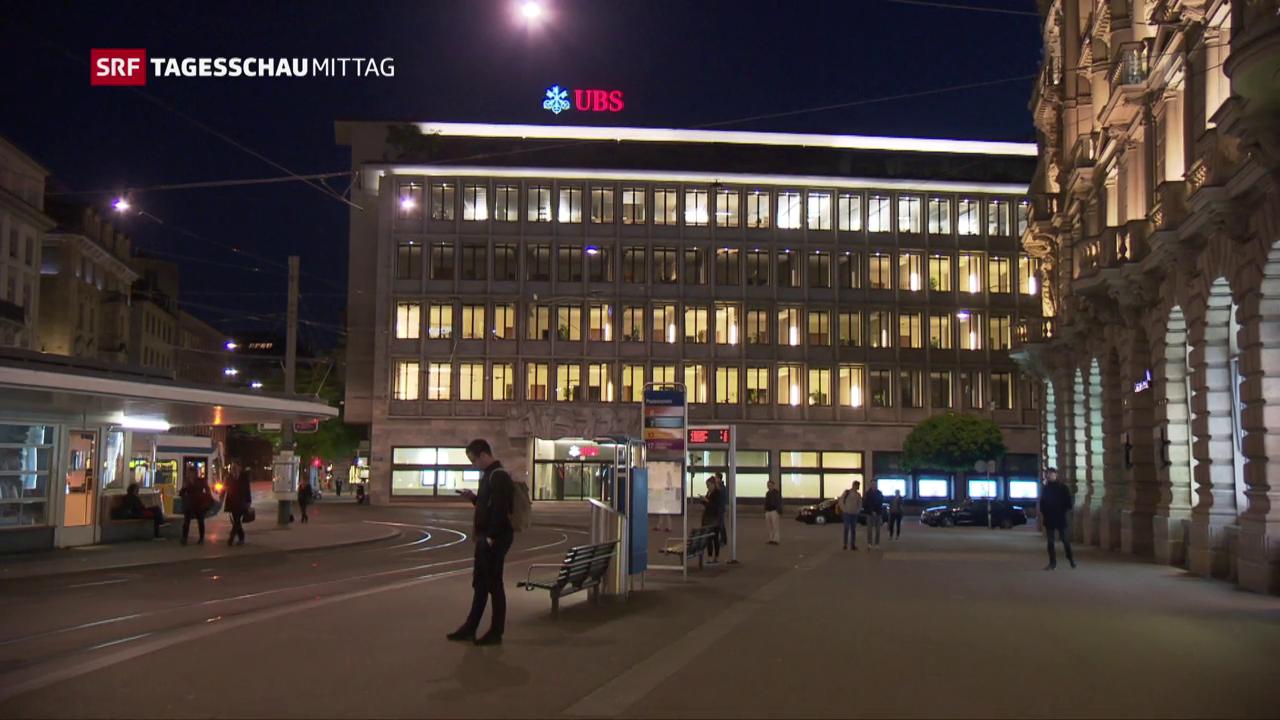 UBS: Niedriger Gewinn - mehr Geld für CEO