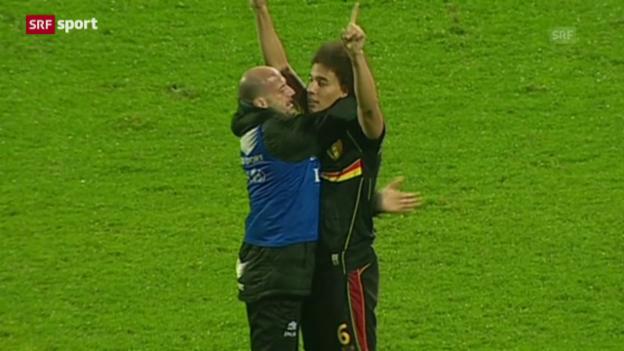 Video «Fussball: WM-Quali, Kroatien - Belgien» abspielen