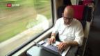 Video «Pendeln mit der Bahn: Arbeitsweg ist Arbeitszeit» abspielen