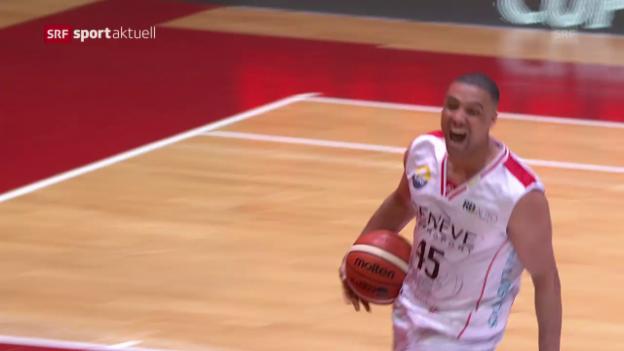 Video «Männerteam der Genève Lions gewinnt Cupfinal» abspielen