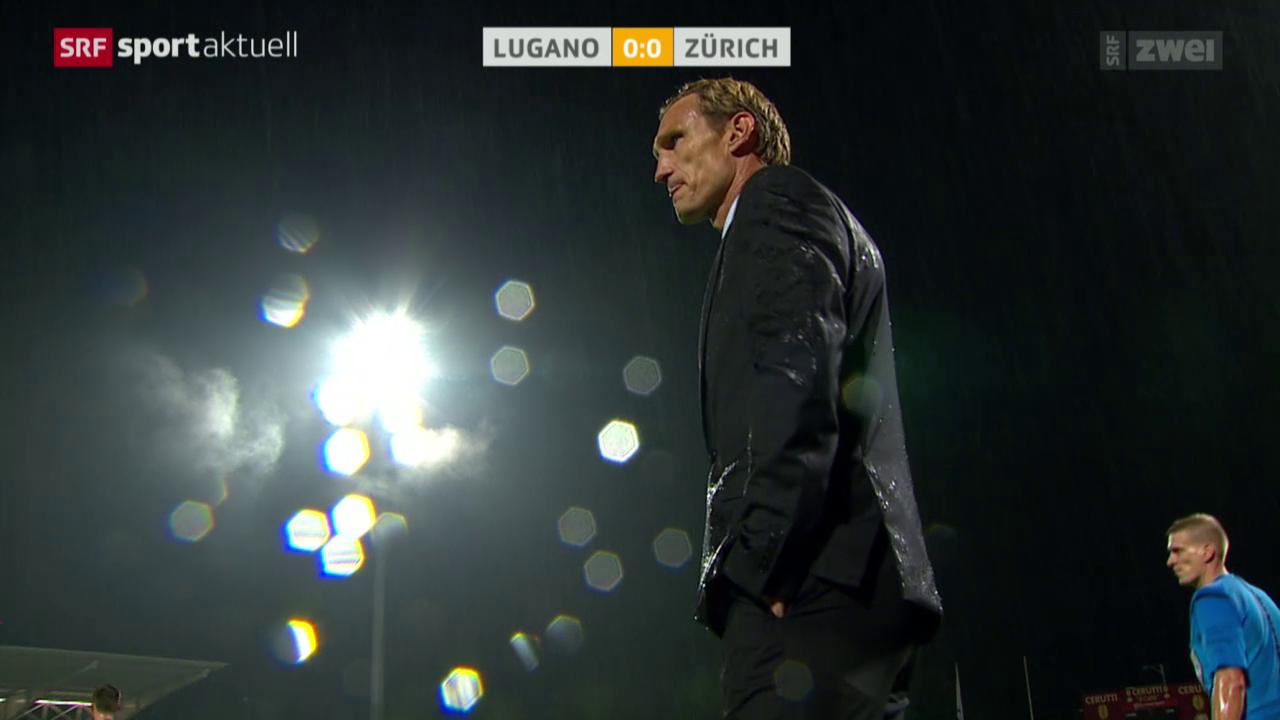 Fussball: Super League, Lugano - FC Zürich