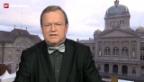 Video «Longchamp: Mangels Betroffenheit tiefe Stimmbeteiligung» abspielen